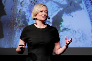 Sofia Rasmussen föreläser